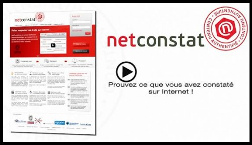 vidéo de démonstation, démonstration netconstat.com, démo vidéo, netconstat