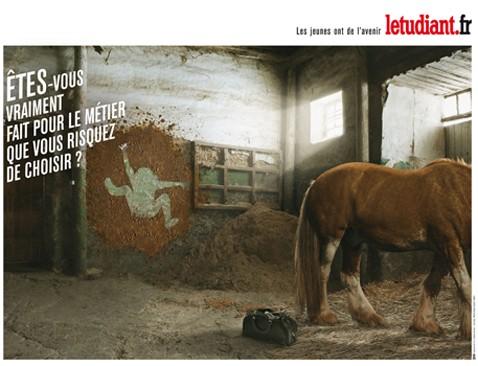 etudiant.fr, campagne, 2011, visuel choc