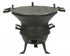 barbecue, recyclage, métal, fonte, brasero