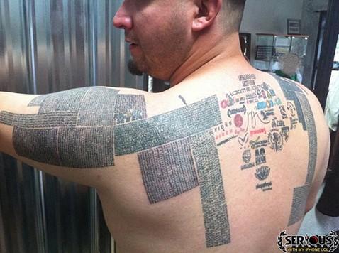 tatouage,url de site, inédit,annuaire,insolite