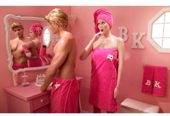 barbie, détournement, jouet, femme, blonde, ken, barbie et ken