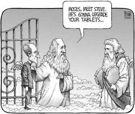 steve jobs,apple,tablette,paradis,mort,vie après la mort