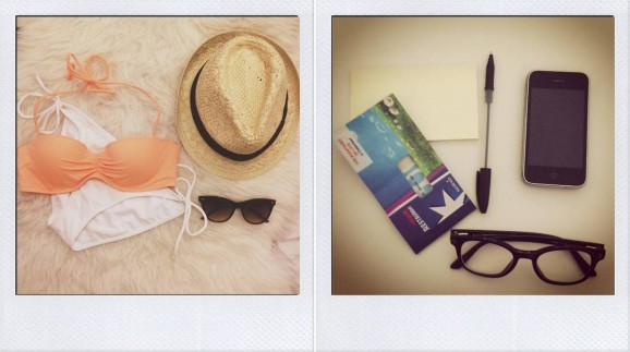 vacances, soleil, maillot de bain, partir,plage,tumblr, #onpensebienavous